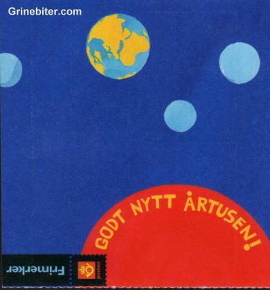 Vinternatt og Solnedgang FH111 frimerkehefte