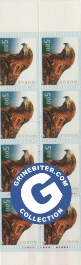 FH112 toppskarv i solnedgang frimerker