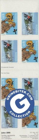 FH116 Tegneseriefigurer frimerker