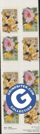 FH117 Roser I frimerker