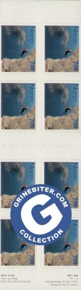 FH119 Fjellklatring frimerker