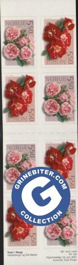 FH120 Roser II frimerker