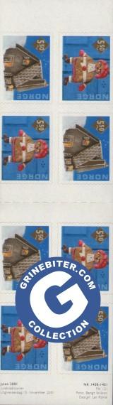 FH121 Pepperkaker frimerker