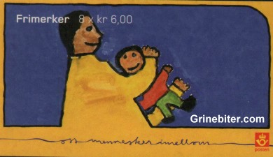 Jul 2004 Barns rettigheter FH134 frimerkehefte