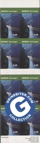 FH135 Geiranger frimerker