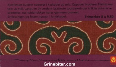 Flåm FH136 frimerkehefte