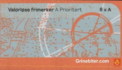 Tranøy Fyr og Jomfruland Fyr FH138 frimerkehefte