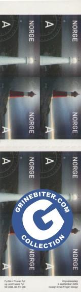 FH138 Tranøy Fyr og Jomfruland Fyr frimerker