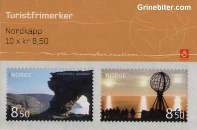 Kirkeporten/Nordkapp FH141 frimerkehefte