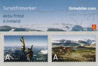 Voss og Rallarvegen FH144 frimerkehefte