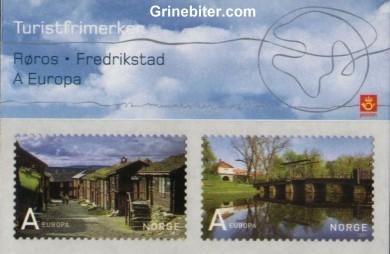 Røros og Fredrikstad FH145 frimerkehefte