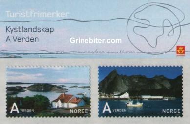 Kystlandskap og Verden FH146 frimerkehefte