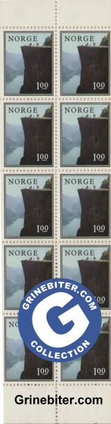 FH43 Prekestolen frimerker