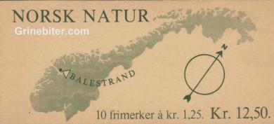 Fruktblomstringen på Vestlandet FH44 frimerkehefte