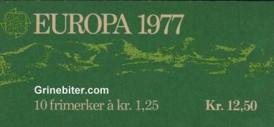 Hamnøy i Lofoten FH45 frimerkehefte