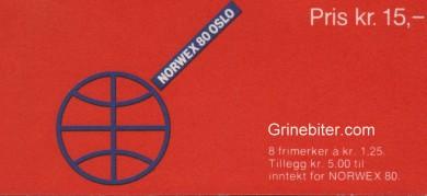 Svalbard- og polfrimerker FH50 frimerkehefte
