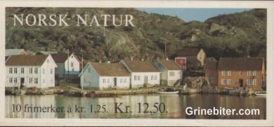 Skjernøysund ved Mandal FH52 frimerkehefte