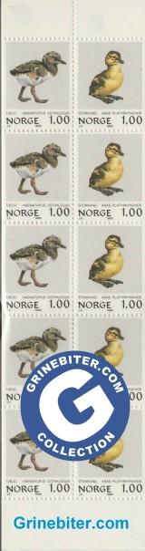 FH53 Tjeldunge og stokkandunge frimerker