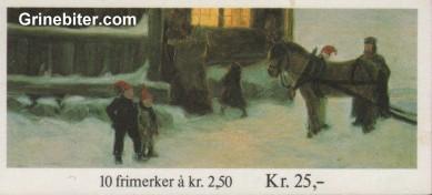 Gjestene kommer FH61 frimerkehefte