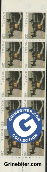 FH61 Gjestene kommer frimerker