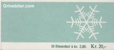 Julekranser FH64 frimerkehefte