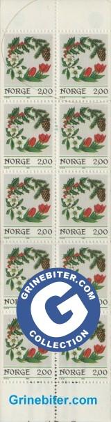 FH64 Julekranser frimerker