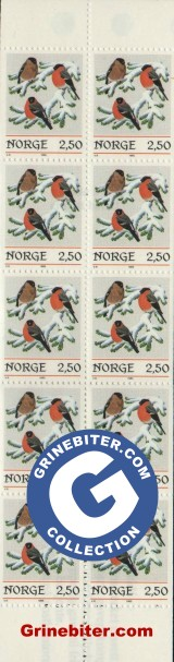 FH65 Dompaper frimerker