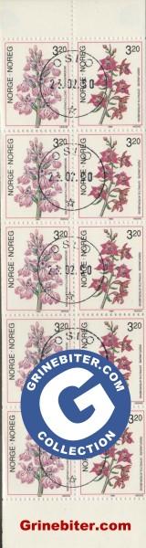 FH75 Skogmarihand og raudflangre frimerker