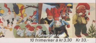 Julenissar FH79 frimerkehefte