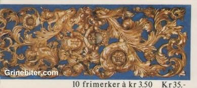 Mangen kapell og Sandnessjøen kirke FH81 frimerkehefte