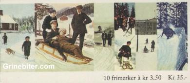 Kjelke og spark FH83 frimerkehefte