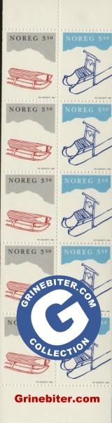 FH83 Kjelke og spark frimerker