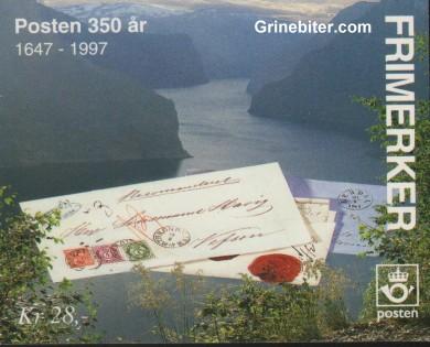viktige posttjenester FH87 frimerkehefte
