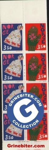 FH88 Lue og vott frimerker