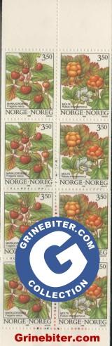 FH89 Markjordbær og molte frimerker