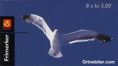 Færder fyr FH98 frimerkehefte