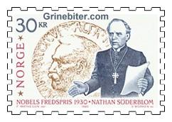 Nathan Söderblom samt Nobelmedaljen