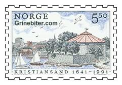 Parti fra Kristiansand havn