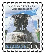 Fontene i Vigelandsparken, Oslo