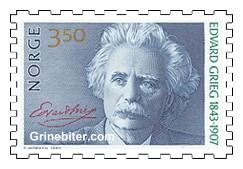 Edvard Griegs portrett og navnetrekk