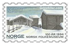 Østerdalstunet på Norsk Folkemuseum