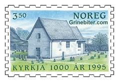 Gamle Moster kyrkje på Bømlo