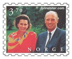 Kong Harald V og dronning Sonja