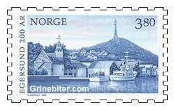 Fra Egersund havn