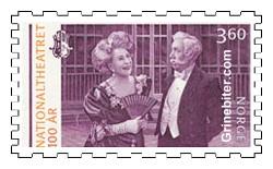 Wenche Foss og Theodor Haugen