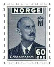 Portrett av Kong Haakon VII