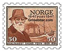 Svend Foyn, med hvalfangstbåten Spes