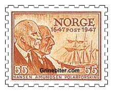 Fridtjof Nansen og Roald Amundsen