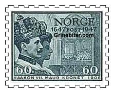 Kong Haakon VII og dronning Maud