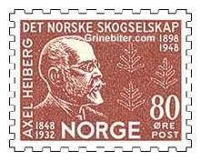 Axel Heiberg og stiliserte bartrær